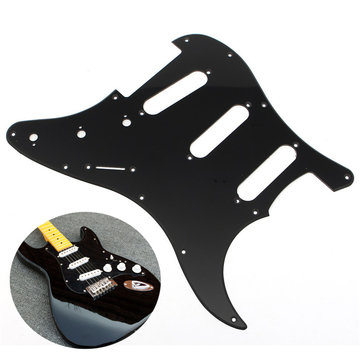 3Ply Electric Guitar Pickguard 1Ply Backplate Knoppen Vervanging Schroeven Set