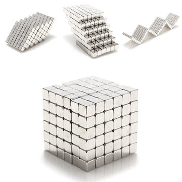 3mm 216pcs Magneetballetjes Magic Square 3D Puzzel Ball Sphere Magnetic Child Toy