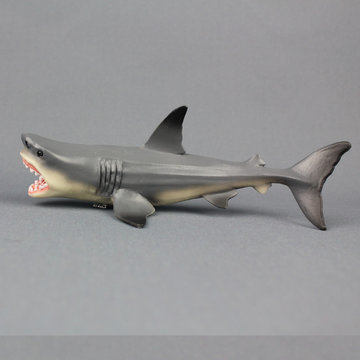 Megalodon Prehistorische Shark Toy Model Diecast Model Desk Decor Home