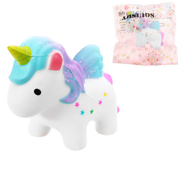 Unicorn Squishy 7x10cm Slow Rising With Packaging Collection Soft Speelgoed