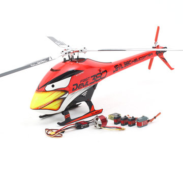 ALZRC Devil 380 FAST Drie Blade Rotor TBR Helikopter Super Combo