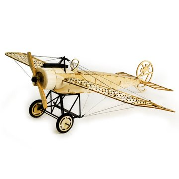 Dancing Wings Hobby Fokker-E 410 mm Spanstuk Balsa Wood Airplane Statisch model ongemonteerd