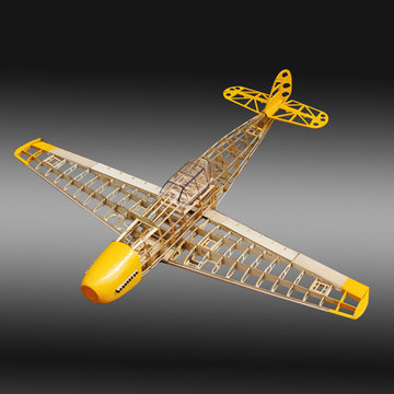 BF109 Fighter 1020mm Spanwijdte Balsa Wood Model Aircraft Kit