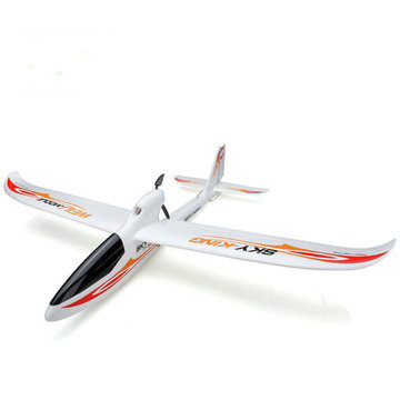 WLtoys F959 Sky King 2.4G 3CH LED 750mm Wingspan RC Vliegtuig BNF