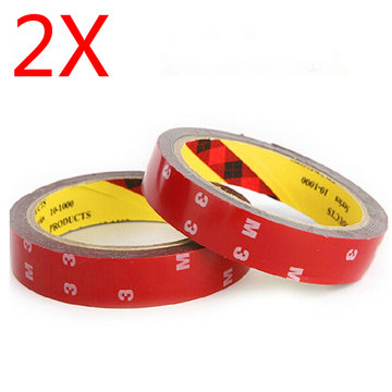 2 x 3m Ultra Thin Waterproof Bescherm ESC Board Double Side Tapes