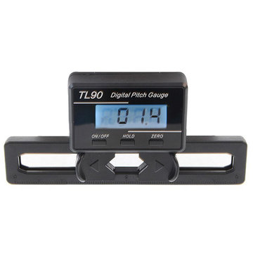 TL90 LCD Digitale Pitch Meter Voor ST250-800 Flybarless Helikopter
