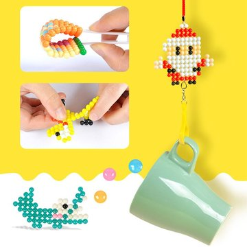 Fuse Beads Refill Magic Sticky Water Beads Art Crafts Toys voor kinderen Beginners Jigsaw Puzzle Toy