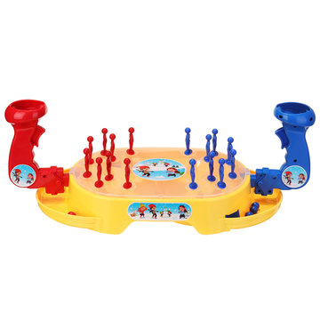 Sneeuwballengevecht Double Match Game Desktop Puzzle Catapult Knowledge Children Early Education Toys