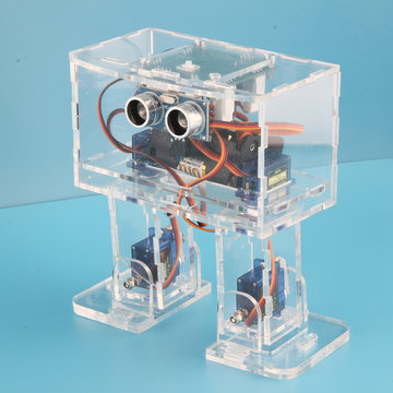 DIY STEAM Nano Dansende RC-robot Educatief robotspeelgoed met servo's