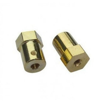 3mm 4mm 5mm 6mm Hex DC Gear Motor Connector Voor RC Cars