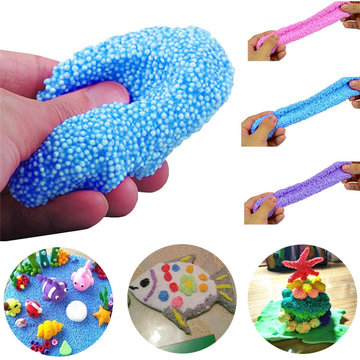 Fluffy Slime Floam Autism Crystal Mud Clay Stress Relief Kid Toy 100ML
