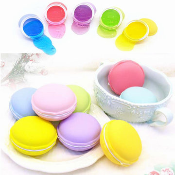 6PCS Macaron Slime Macaroon 5.5cm Crystal Clay Rubber Mud Intelligent Hand Gum Plasticine DIY Toy Gift