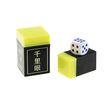 Magic Trick Prop Plastic Grote Square Clairvoyance Fun Gift Toys