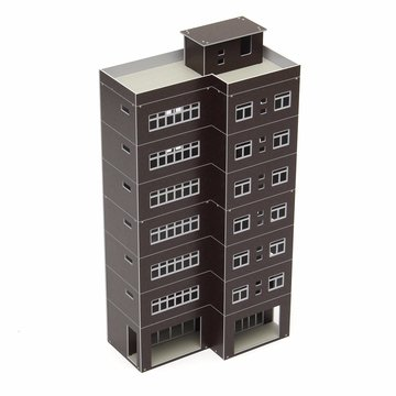 Coffee Outland Modellen Modern Tall Business Building Office Voor GUNDAM Building