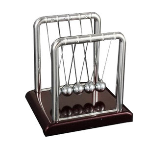 STEM Small Size Newton's Cradle Steel Balance Ball Physics Pendulum Toys