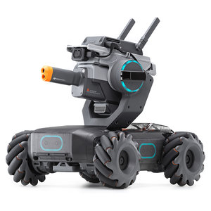 DJI Robomaster S1 STOOM DIY 4WD Brushless HD FPV APP-besturing Intelligente educatieve robot met AI modules Ondersteuning Scratch 3.0 Python-programma