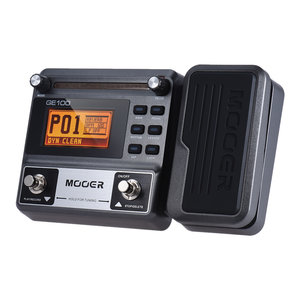 MOOER GE100 Multifunctioneel gitaareffect Pedaal met 180 seconden lusopname 60 Effecttypes LCD-display