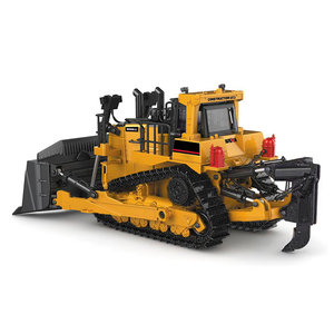 1:50 Crawler Bulldozer Model legering Tracked Engineering Track Auto Diecast Model Toys