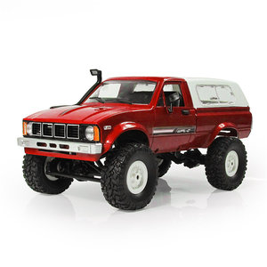 WPL C24 1/16 RTR 4WD 2.4G Militaire Truck Crawler Off Road RC Auto 2CH Speelgoed