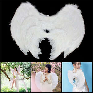 Feather Angel Wing Fancy Dress Accessoires Chirstmas Stadium Performance Decor